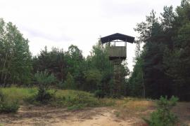 Baza rakietowa, Kąty Goździejewskie k. Pustelnika
