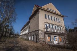 Opuszczony ośrodek rehabilitacyjny