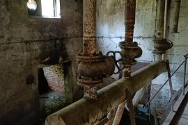 Opuszczone szklarnie - Janów