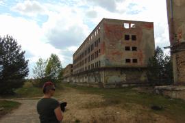 Opuszczone budynki fabryczne, Borne Sulinowo