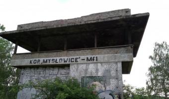 """Ruiny nastawni  Kop.""""Mysłowice"""" - Mf1 , Mysłowice,"""