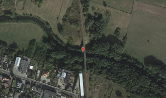 Nieczynny wiadukt kolejowy, Koronowo,