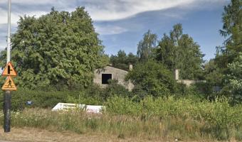 Opuszczony dom w Łodzi,