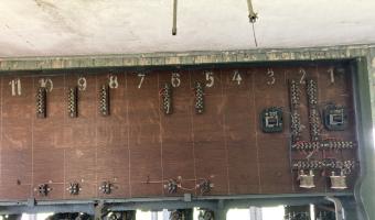Opuszczona Nastawnia kolejowa,