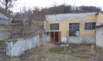 Opuszczona osiedlowa kotłownia,