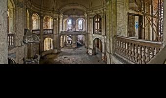 Pałac von reichenbachów / kościół dworski , goszcz
