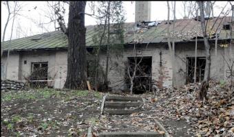 Opuszczony dom, Warszawa,