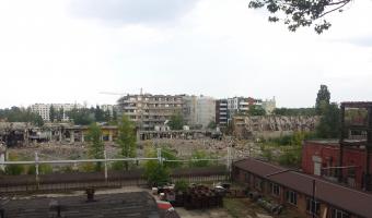 Opuszczona fabryka traktorów Ursus, Warszawa (Ursus),
