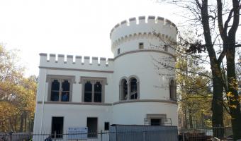 Ruiny pałacu Wincklerów, Bytom, Miechowice,