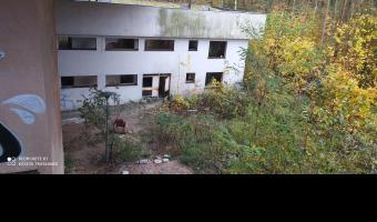 Opuszczony ośrodek rekreacyjny polfy tarchomin serock