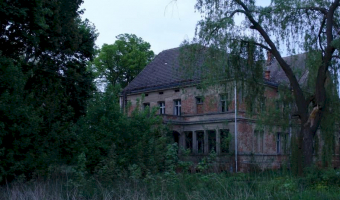 Opuszczony pałac, Zbarzewo,