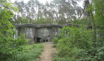 Fort V Dębina, Dębina,
