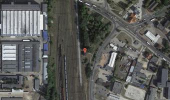 Stara nastawnia kolejowa, Ostrów Wielkopolski,