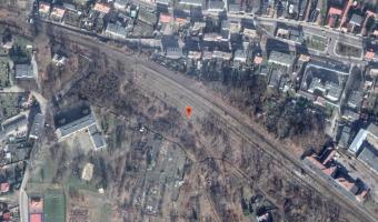 Nieczynna stacja kolejowa, Lubsko,