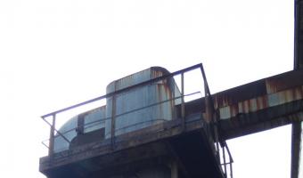 Opuszczona kotłownia, Sosnowiec,