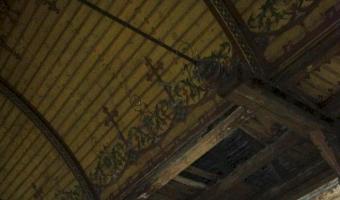 Opuszczony kościół ewangelicki, zrazim
