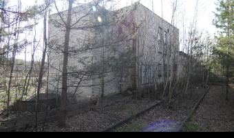 Opuszczony budynek kolejowy, Dąbrowa Górnicza,