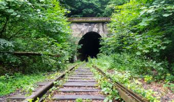 Tunel kolejowy pilchowice zapora