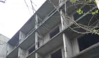 Opuszczone bloki mieszkalne, Gliwice,