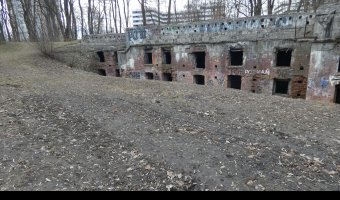 Fort pancerny 48a Mistrzejowice, Kraków,