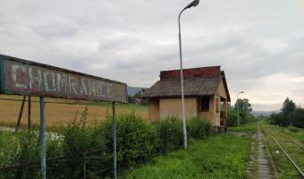 Przystanek kolejowy w Chomranicach,