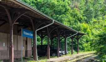 Stacja kolejowa pilchowice zapora