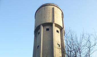 Opuszczona wieża ciśnień, Katowice,