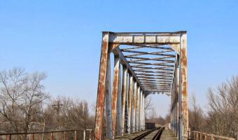 Stary most kolejowy, Warszawa,