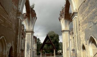 Ruiny kościoła św. Antoniego, Jałówka,