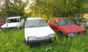 Opuszczony parking policyjny