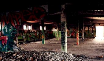 Opuszczona fabryka konserw, Poznań,