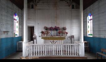 Opuszczony kościół mariawitów,