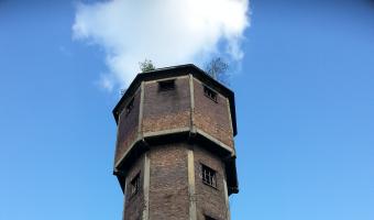 Wieża ciśnień Huty 1 Maja, Gliwice,