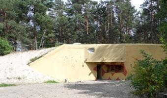 Bunkier regelbau 120a, pogorzel warszawska