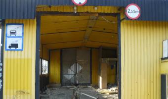 Opuszczona stacja paliw, Ruda Śląska,