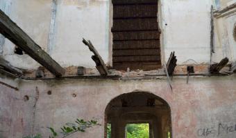 Ruiny pałacu , droglowice