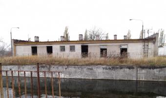 Opuszczona oczyszczalnia ścieków, Szczecin,