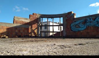 Niedokończony budynek Świrskiego Siedlce,