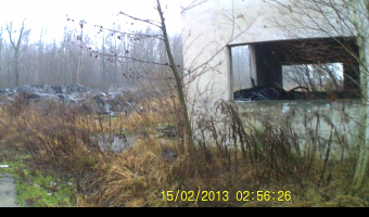 Ruiny PGR, Błotnica Strzelecka,