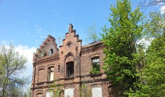Budynek Szkoły Powszechnej - Dąbrowa Górnicza Ząbkowice,