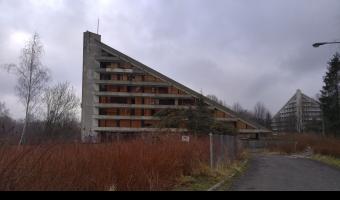 Opuszczony ośrodek wypoczynkowy Maciejka, Ustroń,