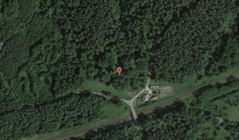 Opuszczony grobowiec/kapilca w Szpęgawsku, Szpęgawsk,
