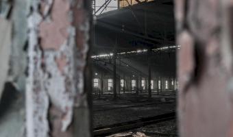 Tabor kolejowy, wagon rewizyjny s r51, gliwice