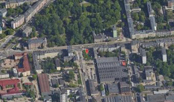 Szczelina przeciwlotnicza, Łódź,