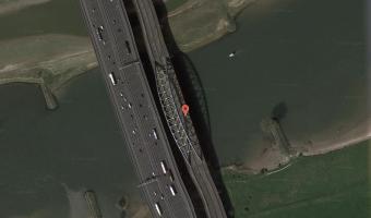 opuszczony most, Vianen,