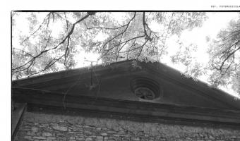 Opuszczony kościół z 1870r., Bukowno,