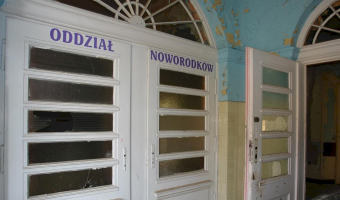 Niedawno opuszczony s z p i t a l w Świdnicy, Świdnica