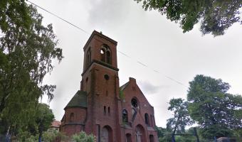 Ruina dawnego kościoła ewangelickiego,