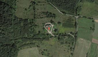 Ruiny radiostacji wojskowej w Stanisławowie, Stanisławów,