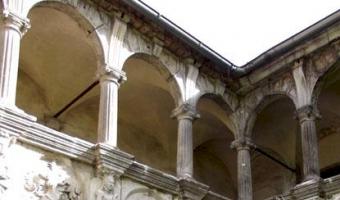 Pozostałości renesansowego dworu , Nawojów Łużycki,